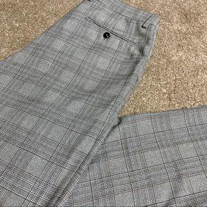 Zara Men's Striped Dress Suit Pants